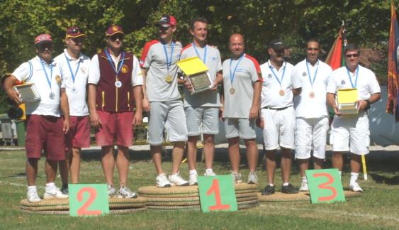 Arcieri Scaligeri Verona foto podio