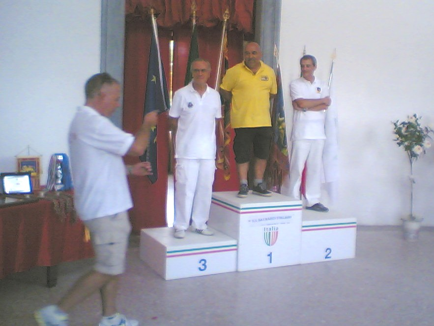 Arcieri Scaligeri podio arco compound